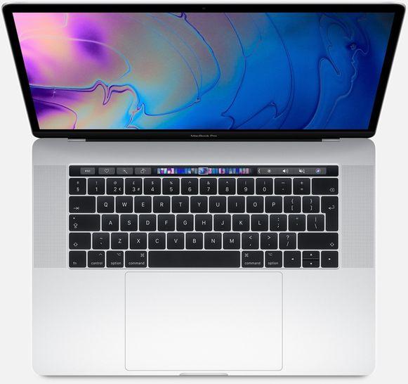 De MacBook Pro 2019.