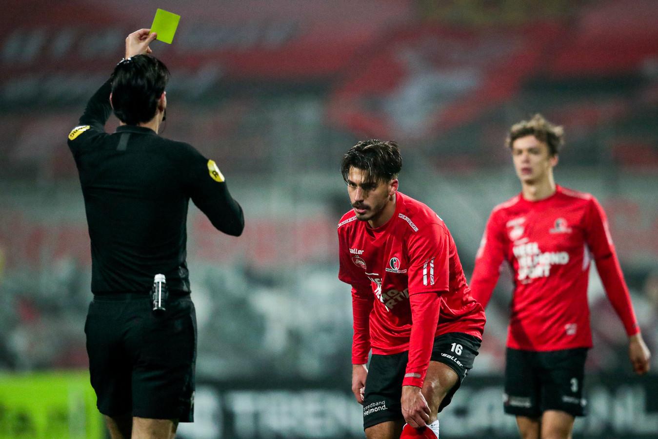 Berk Cetin kwam drie duels in actie voor Helmond Sport, dat hem huurde van Kasimpasa.
