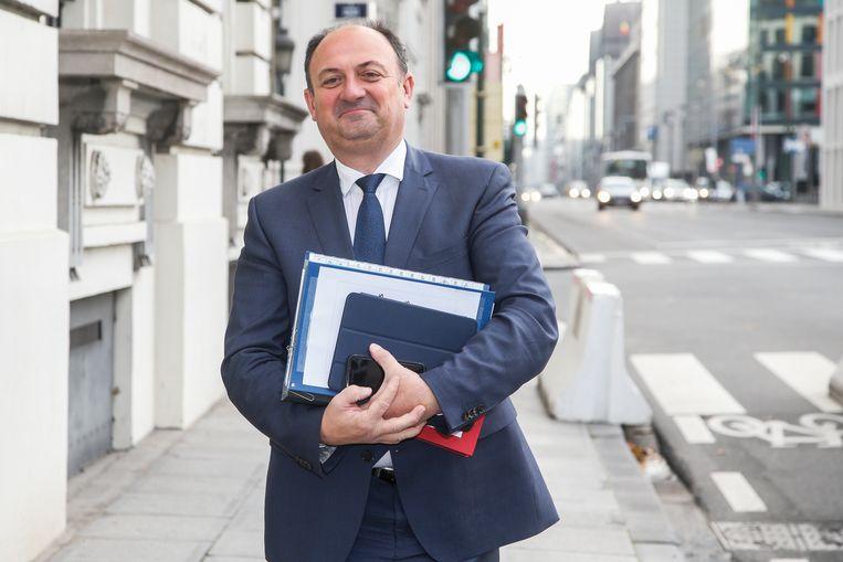 Minister van Zelfstandigen Willy Borsus (MR). Beeld BELGA