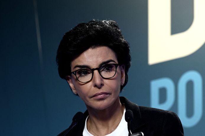 De voormalige Franse minister van Justitie Rachida Dati op archiefbeeld.