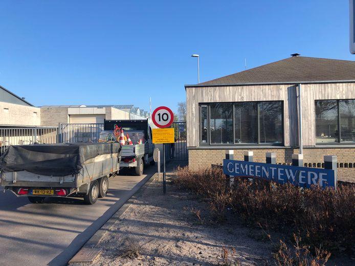 De gemeentewerf van Uden.