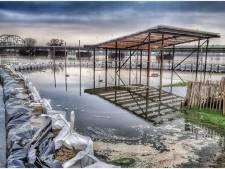 Hoogwater bij Deventer daalt, Meadow denkt aan terugkeer met 'Koek en Verzopie'