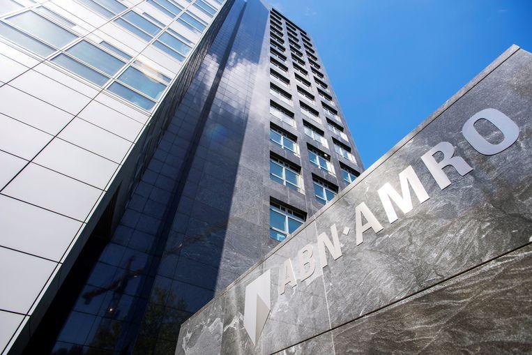 ABN AMRO hoofdkantoor in Amsterdam.  Beeld REUTERS/Piroschka van de Wouw