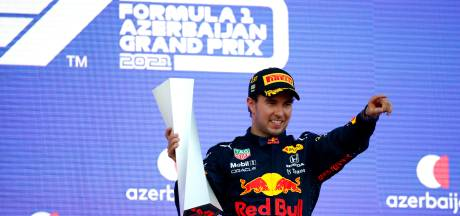 Winnaar Sergio Pérez leeft mee met Verstappen: 'Het spijt me heel erg voor Max'