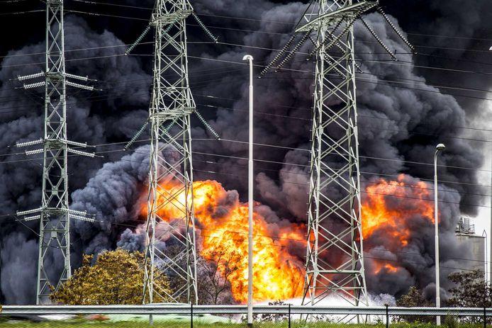 De eerdere brand bij Chemelot in 2015