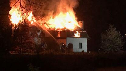 Verwoestende villabrand in Brugge wellicht werk van krakers