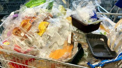 """Plastic Attack waait over naar ons land: """"Laat verpakkingen achter in winkel"""""""