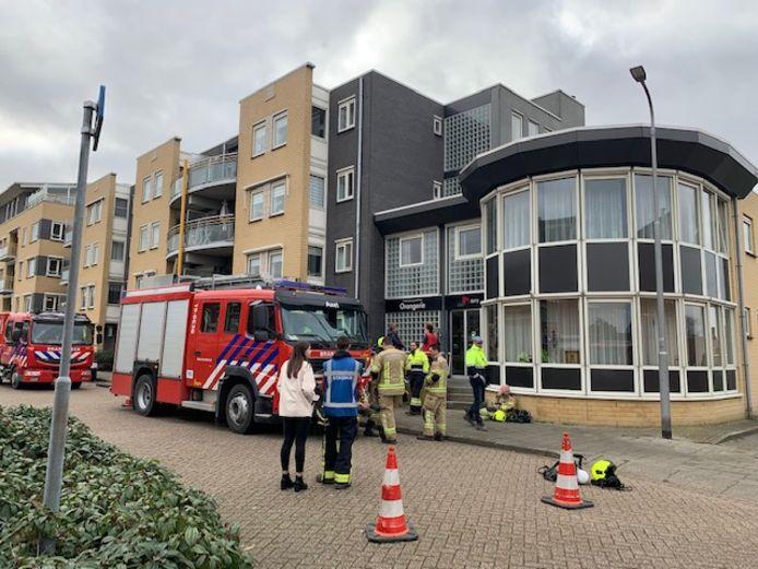 Brandweer vorig jaar in actie bij een gaslek in Axel.