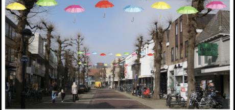 Winkelcentrum Uden wordt zomers aangekleed: 'We hadden budget over'