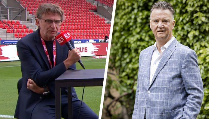 Erik Van Looy en Louis van Gaal.