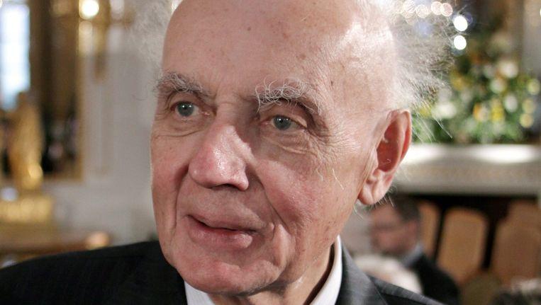 De Poolse componist Wojcieh Kilar op 10 oktober, hij werd 81 jaar oud. Beeld EPA