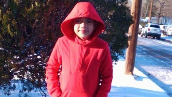 Cristian Pineda (11) overleed vorige week in Texas aan de gevolgen van onderkoeling.