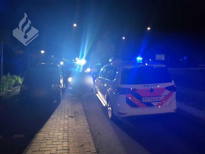 Man (30) aangehouden na inbraak en vluchtpoging in Uden.