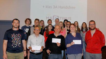 Sint-Martinus zamelt 2.650 euro in voor goede doel