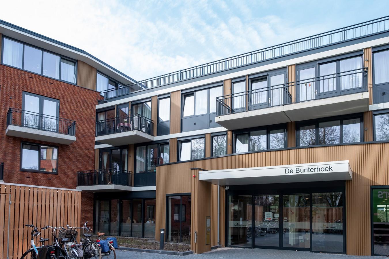 Een van de woon- zorglocaties van WZU Veluwe: woon- zorgcentrum de Bunterhoek in Nunspeet