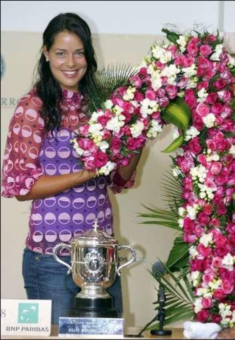 Zaterdag won Ivanovic haar eerste grandslamtoernooi Beeld UNKNOWN