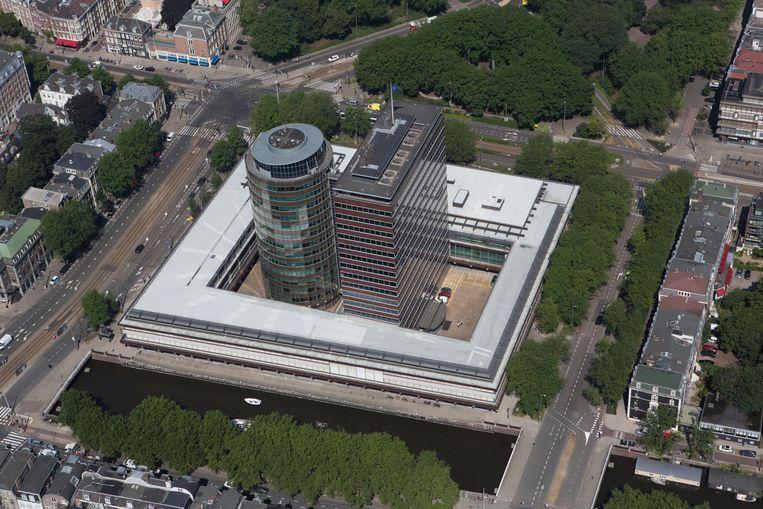 De Nederlandsche Bank in Amsterdam.  Beeld Ton Koene