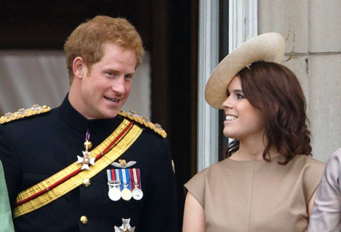 Harry en Eugenie
