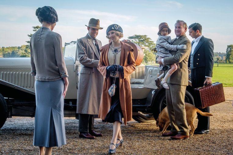 Scène uit 'Downton Abbey'.   Beeld RV