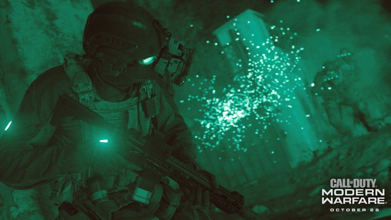 Screenshot uit 'Call of Duty: Modern Warfare' Beeld Activision