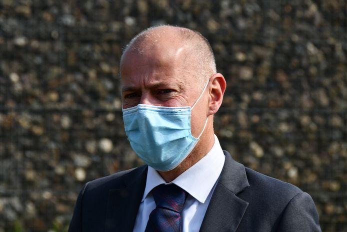 Eric Van Duyse, porte-parole du parquet fédéral belge