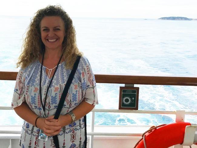 Passagier Carolyne Jasinski.