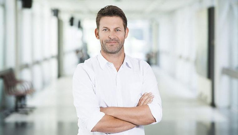 Olivier Goris, netmanager van Eén, wil vooral verder inzetten op primetime en vaste waarden. Beeld VRT | Bart Musschoot