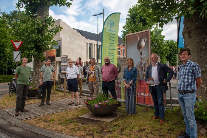 Opening expo Leve(n)de Schelde in Heusden.