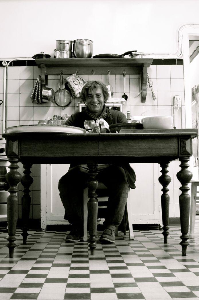 Lionel van den Boogaerde liet zich inspireren door de werken van zijn bedovergrootmoeder.