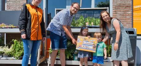 Muntenactie levert 595 euro op voor nieuw spelmateriaal voor Ossendrechtse basisschool