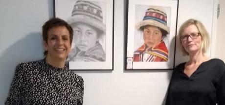 Schilderende vriendinnen fleuren muren van zorgcentrum op met hun kunstwerken: 'Bijzonder'