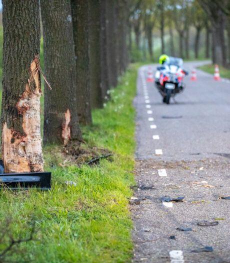 Beschonken Belg (29) botst met bolide tegen boom in Nispen