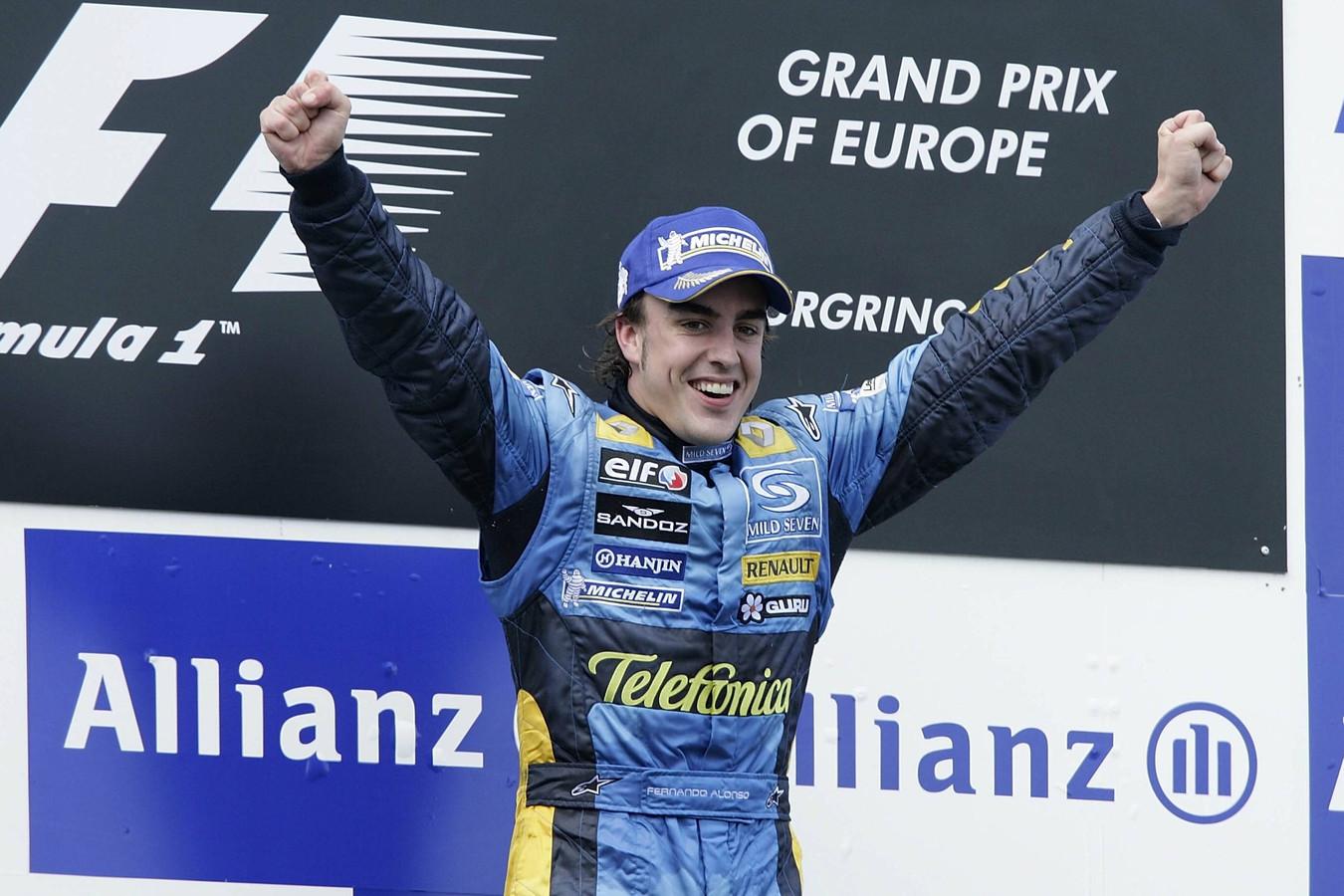 Fernando Alonso in 2005
