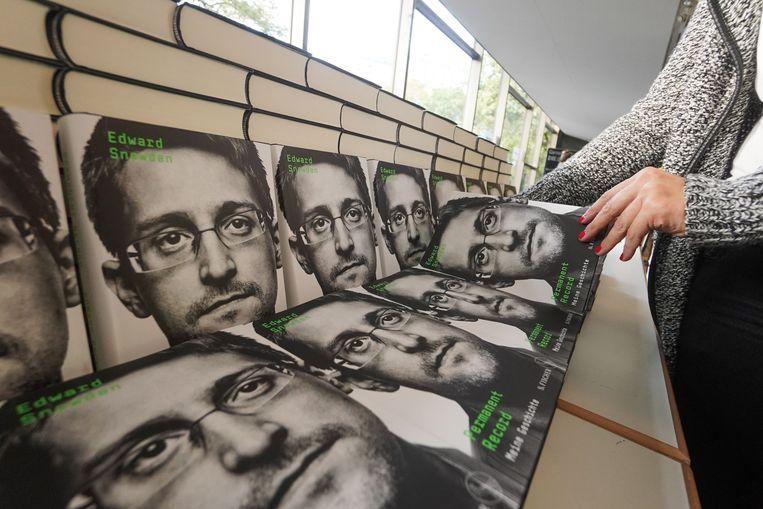 Edward Snowden. Beeld AFP