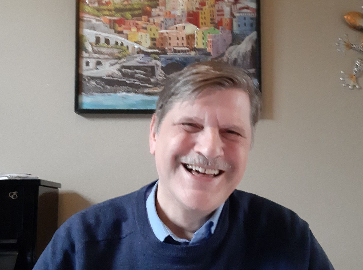 Paul Reichenbach, uitgever, stripliefhebber en scenarioschrijver.
