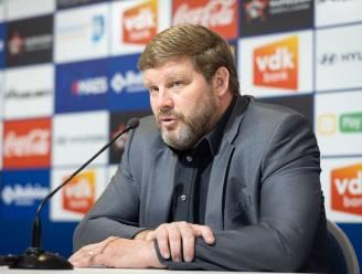 """Hein Vanhaezebrouck gaat voor het hoogste in play-off 2: """"Geen probleem als je ons favoriet noemt"""""""