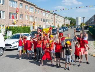 """Rode Duivels-gekte barst los in Populierenlaan: """"Meer dan 2.000 meter zwart-geel-rode vlaggetjes gehangen"""""""