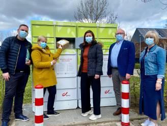 Nieuwe bpost-pakjesautomaat aan JOS in Hoevenen
