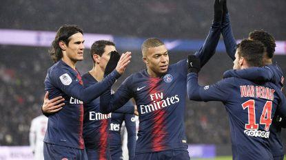 VIDEO. Invaller Thomas Meunier pikt zijn doelpuntje mee in monsterzege (9-0) van Paris Saint-Germain tegen Franse hekkensluiter Guingamp