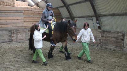 Rondje paardrijden moet patiënten Inkendaal weer doen aansterken