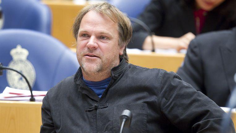 Hans Spekman, partijvoorzitter van de PvdA. Beeld ANP