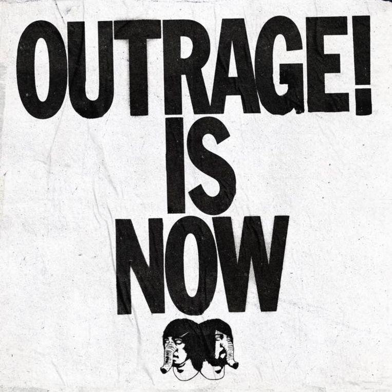 """""""Outrage! Is Now' wil tegelijk crowdpleaser en balorige tiener zijn. Beeld © Death From Above"""