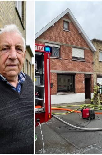 """Louis (87) kruipt op metershoge ladder en gaat zware brand bij buren te lijf met tuinslang: """"Ach, ik deed gewoon mijn plicht"""""""