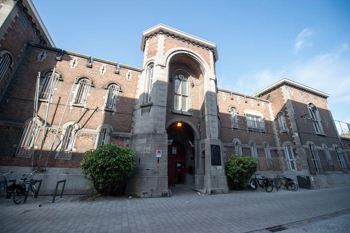 De Antwerpse gevangenis in de Begijnenstraat.