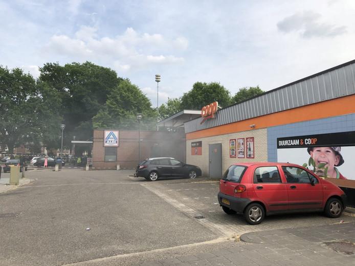 De brand bij de Coop in Almelo afgelopen zaterdag