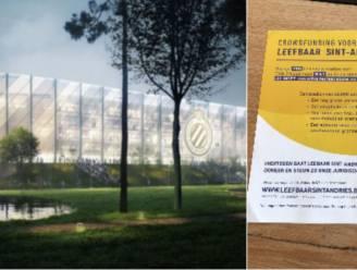 """Buurtbewoners wapenen zich tegen bouw nieuw stadion Club Brugge: """"Goednieuwsshow van Verhaeghe en co doorprikken"""""""