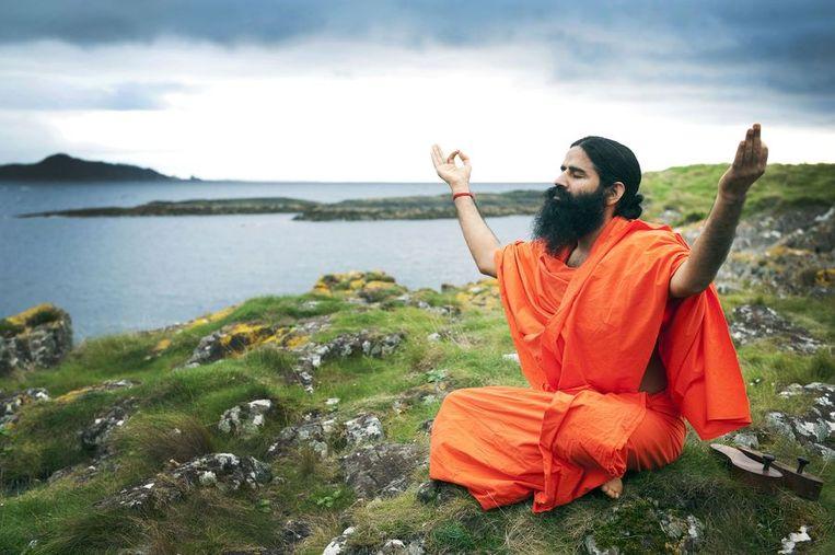 Swami Baba Ramdev © AFP Beeld afp