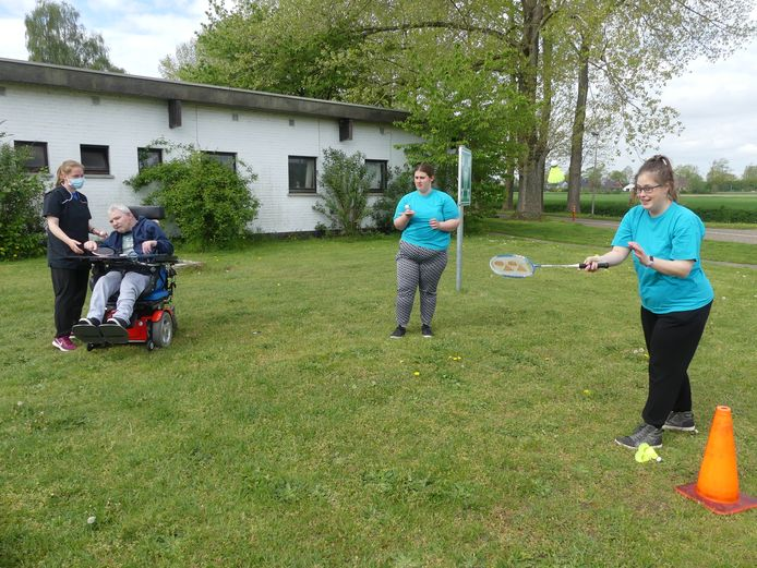 Johan Claus, Sofie Wauters en Kelly Bonte in actie.