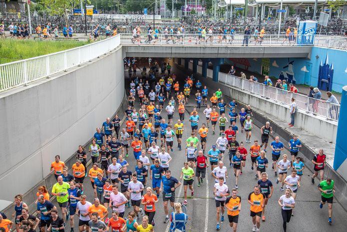 De Halve Marathon van Zwolle in 2019, de laatste editie.