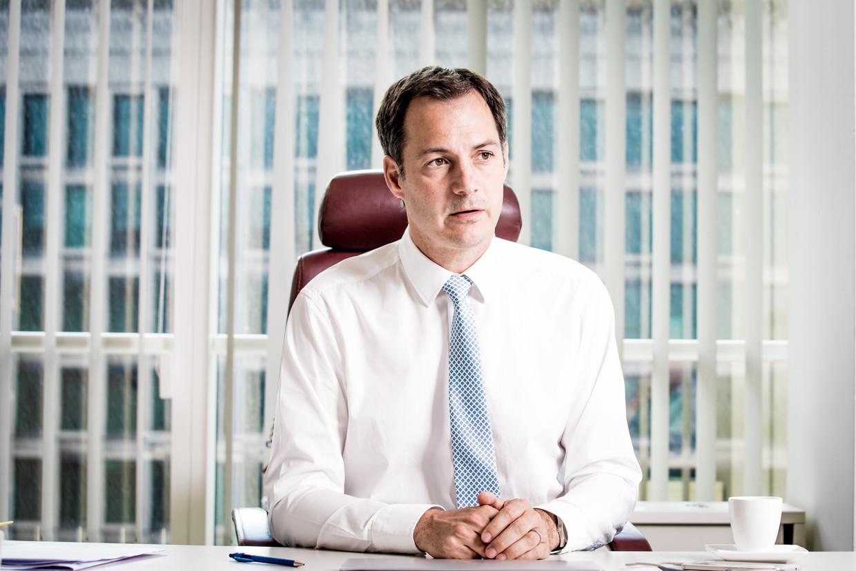 Alexander De Croo (Open Vld) wordt de nieuwe premier van België. Beeld Jan Aelberts